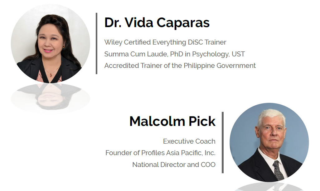 Disc Certification Speakers Profiles Asia Pacific